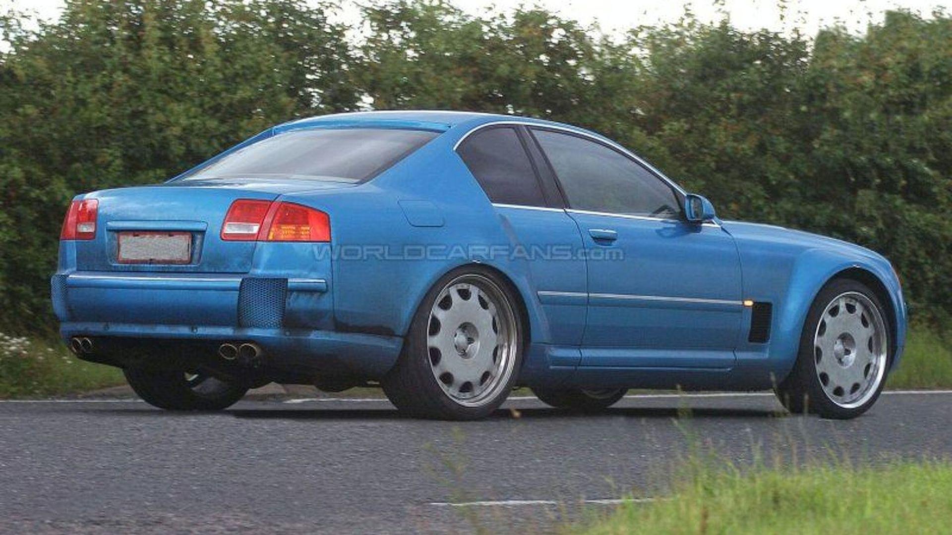 All New VW Phaeton Coupe Cabrio Spy Photos