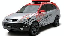 Hyundai Veracruz High-Tech Urban Escape Vehicle