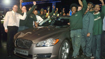 First Jaguar XF Rolls Off Production Line