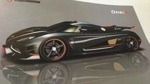 Koenigsegg One:1 more details - to have 1 hp / 1 kg ratio