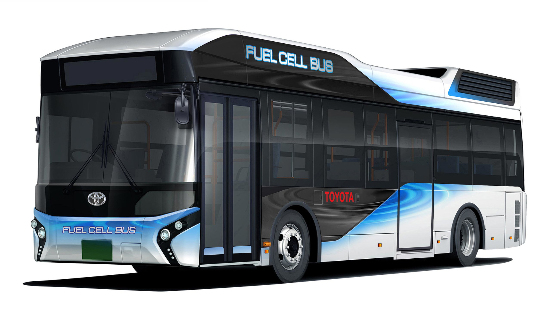 Police Car Website >> Toyota Fuel Cell Bus doubles as emergency power supply, hits the road early 2017