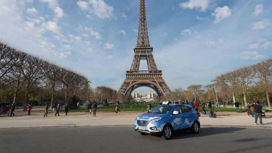 Your next cab in Paris could be a Hyundai fuel-cell vehicle