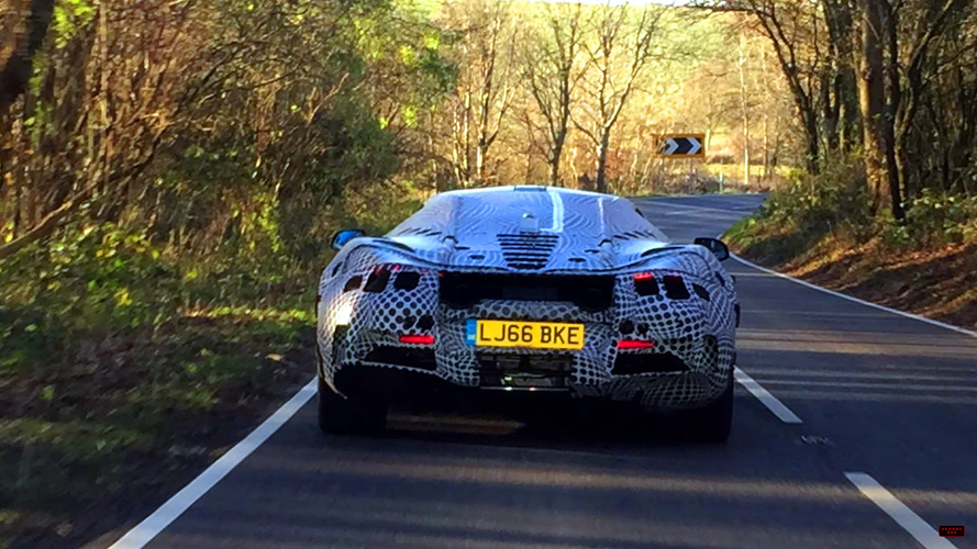 McLaren P14 screenshots from spy video