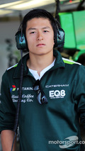 Rio Haryanto, Caterham F1 Team Test Driver