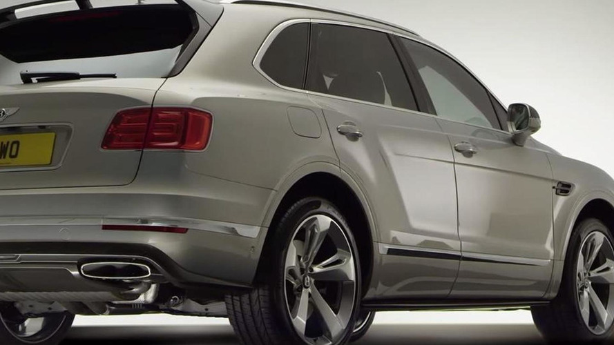 Bentley shows off Bentayga Styling Specification with carbon fiber rear spoiler [video]
