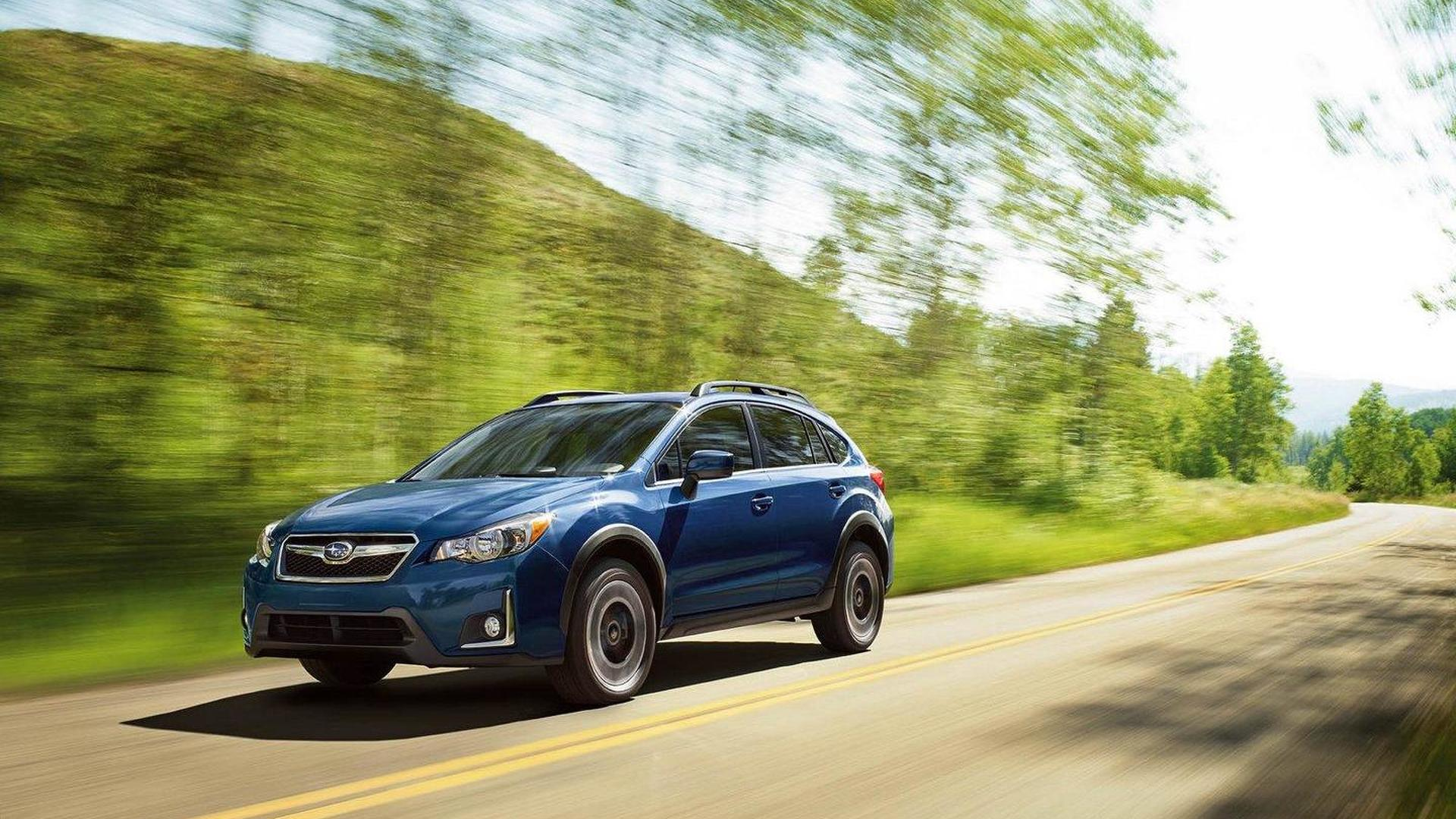 2016 subaru crosstrek facelift revealed. Black Bedroom Furniture Sets. Home Design Ideas