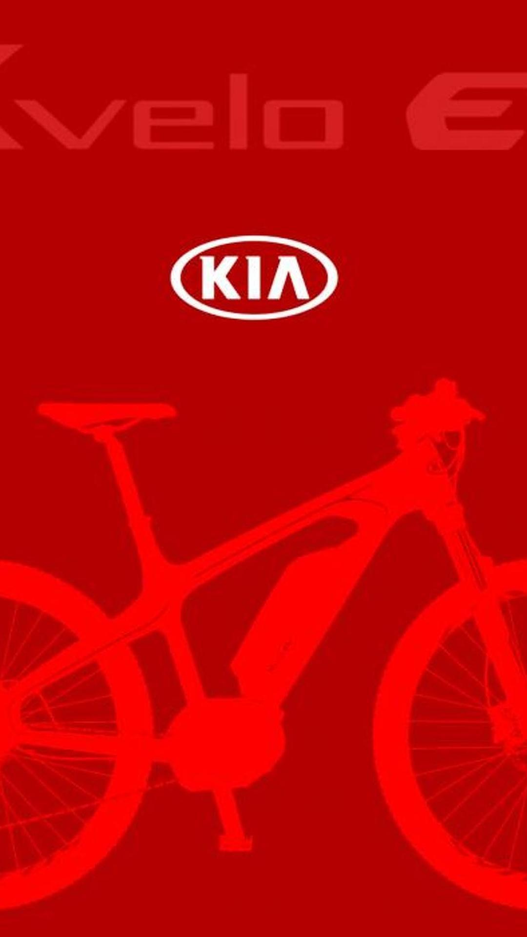 Kia teases K-velo electric bike ahead of Geneva reveal