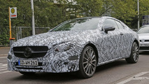Mercedes-Benz E-Class Coupe spy photos