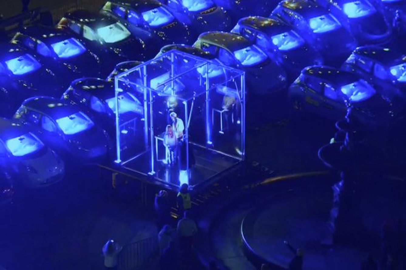 Nissan Norway Lights Up 200 Leafs For the World's Biggest Electric Instrument Festival