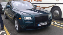 Rolls Royce Ghost Caught Completely Undisguised