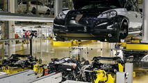 Porsche Cayenne Diesel production