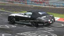 Mercedes-Benz SLS AMG Cabriolet Spy Photos