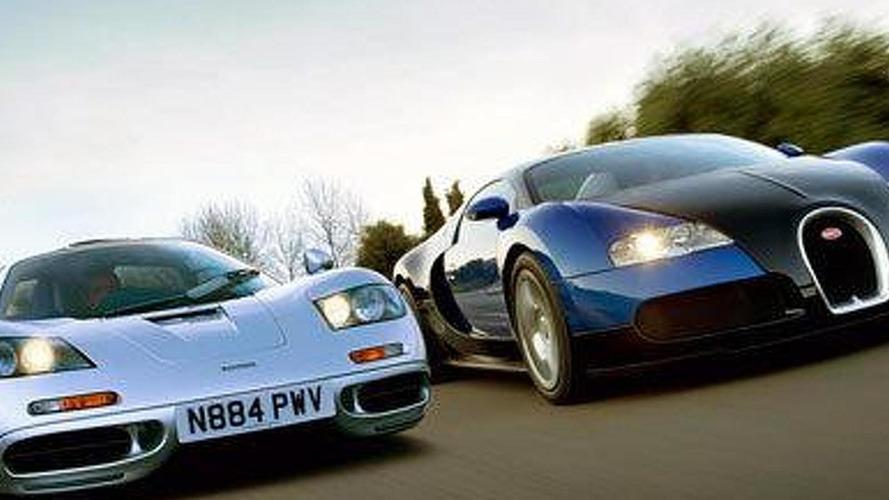 McLaren mulling a 'Mega Mac' to rival Veyron - report