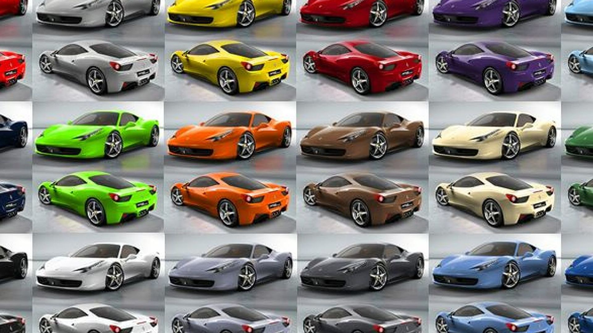 Best Car Paint Colors >> Ferrari 458 Italia - Which Colour Do You Prefer?