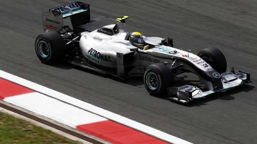 Mercedes still working to improve F-duct