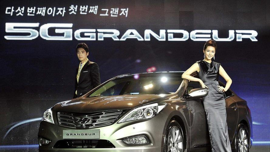 All new 2012 Hyundai Grandeur launched in Korea