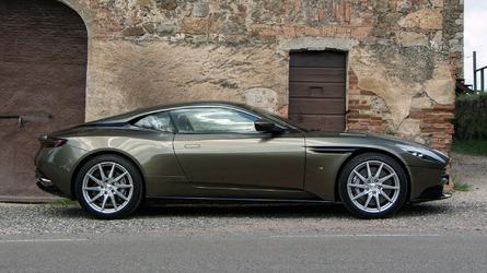 Aston Martin DB11 V8 Debut Is Less Than A Month Away