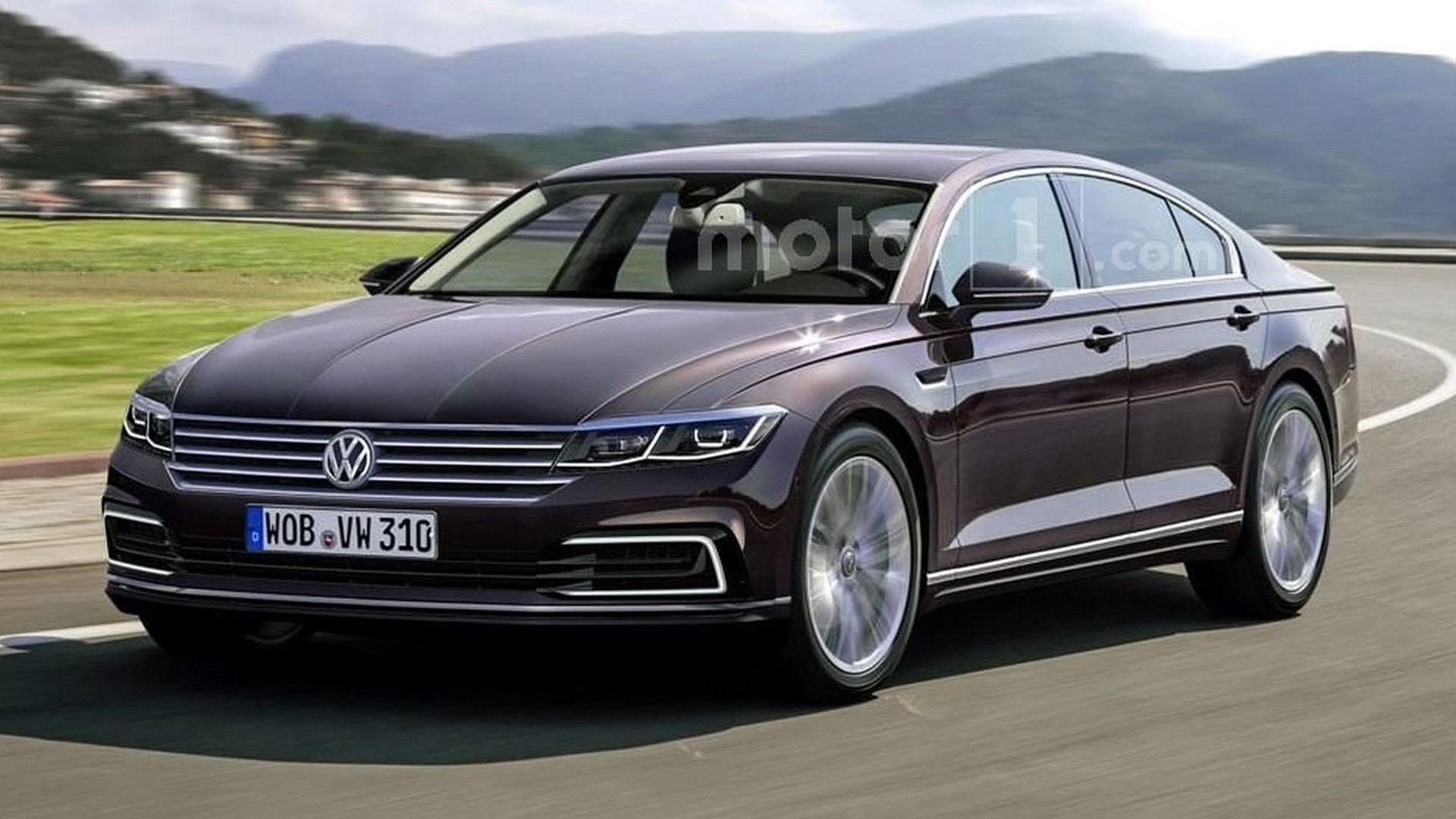 Next Vw Phaeton Rendered But Won T Be Out Soon