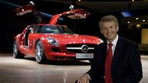 Mercedes SLS AMG at 2009 Frankfurt Auto Show