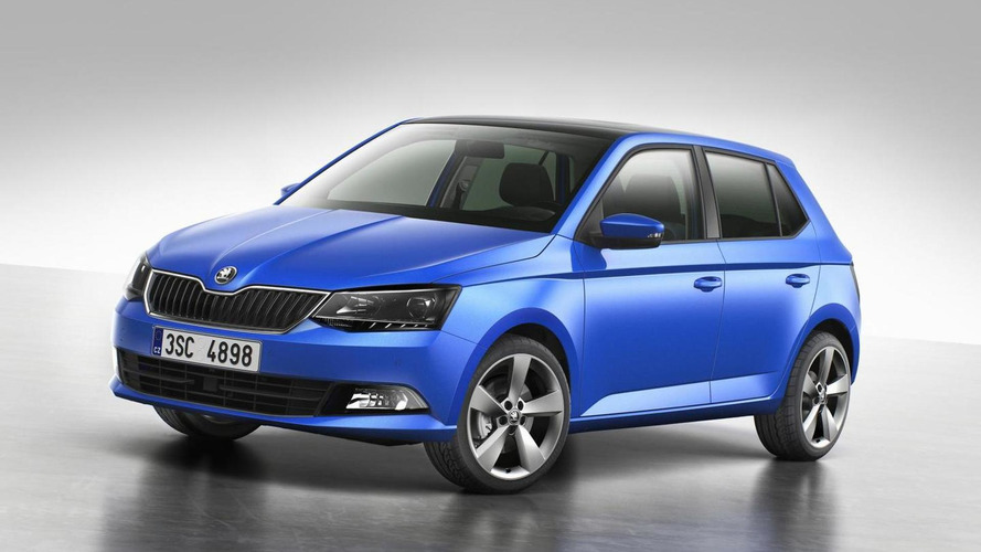 2015 Skoda Fabia officially revealed
