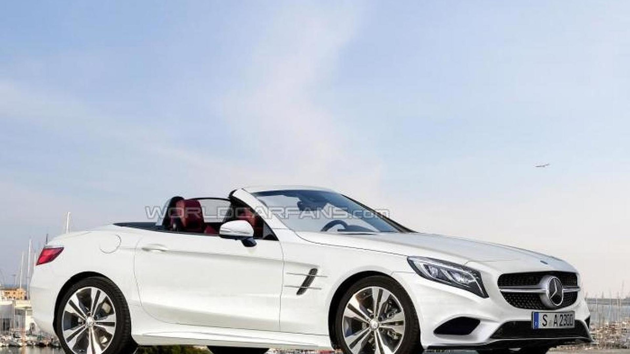 2016 Mercedes-Benz SLC render