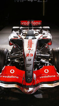 McLaren Unveils MP4-23 for 2008 F1 Season
