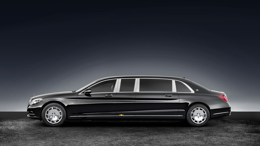 Mercedes-Maybach S600 Pullman Guard is 5.6 tons of bulletproof limo
