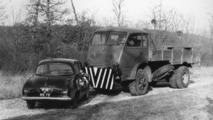 Renault's 1st crash test in 1955