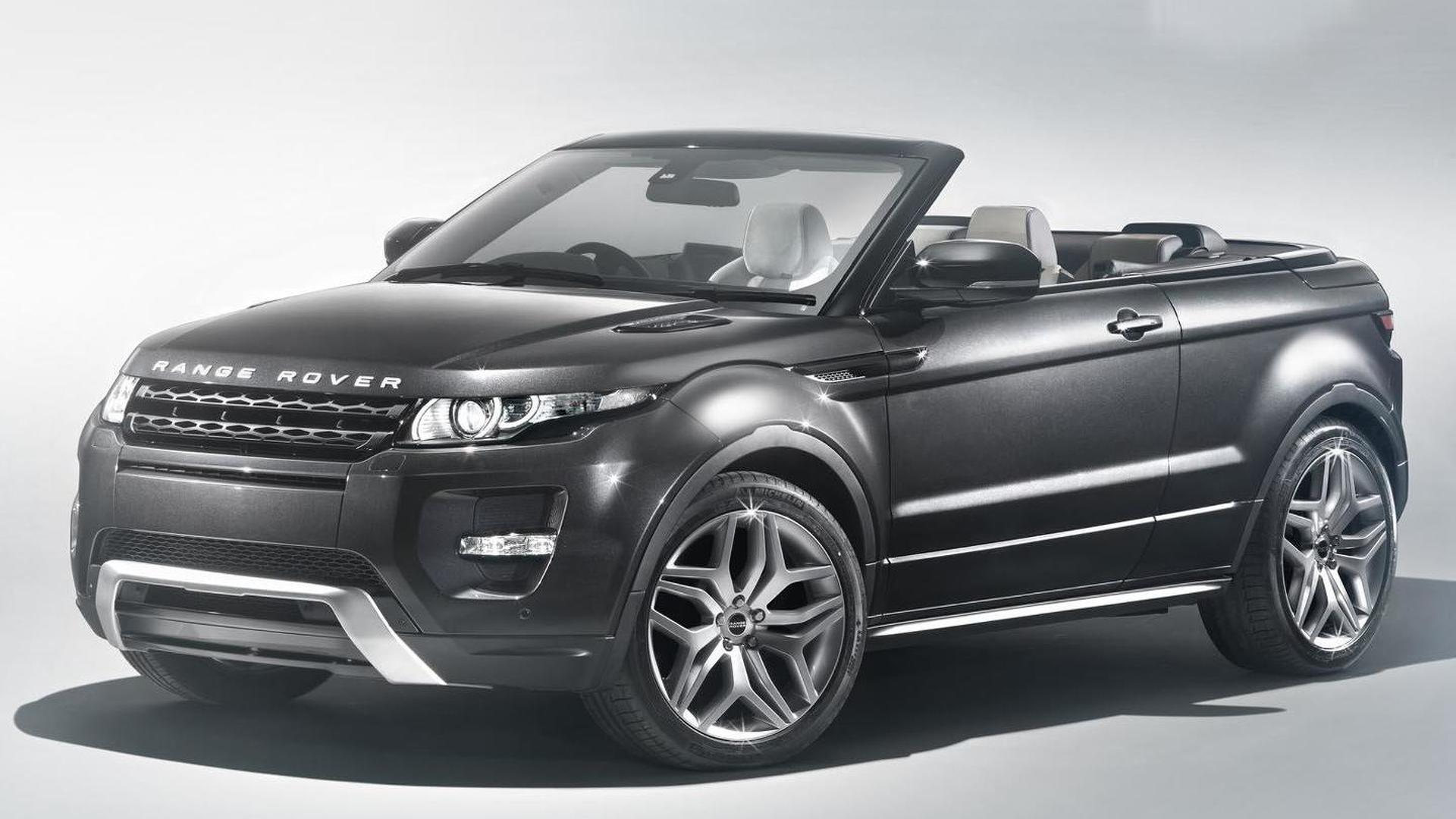 Range Rover Evoque Cabrio expected to go on sale this year, more derivatives possible