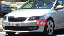 2013 Skoda Octavia spy photo
