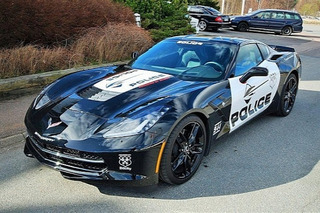 Swedish Corvette Stingray Police Car Needs a New Home