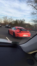Porsche 911 GT3 RS photographed in the metal for the first time