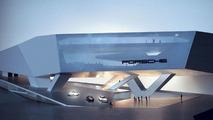New Porsche museum model