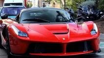 Ferrari LaFerrari cruising in Monaco is a pleasure to watch [video]