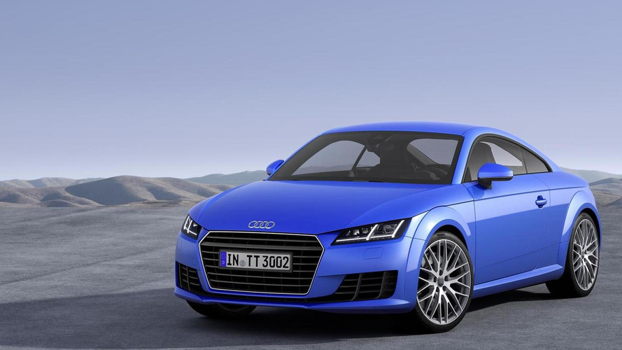 2016 Audi TT Coupe & Convertible to debut in LA, US specs announced