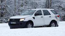 Ford Ranger SUV spy photo