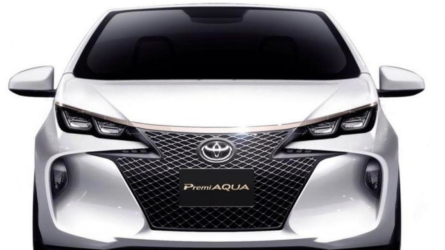 Toyota Premi Aqua concept announced, debuts in Tokyo