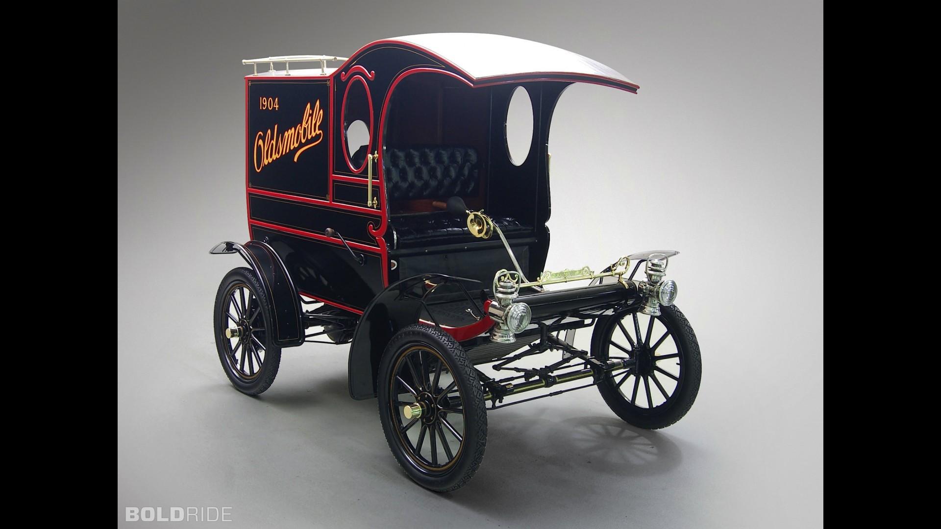 Oldsmobile Model R Curved Dash Pie Wagon