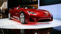 LFA Roadster coming in 2014