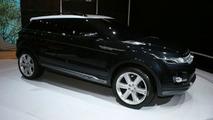 Land Rover LRX Hybrid Concept at New York