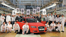 Audi Builds Millionth 2nd Generation A3