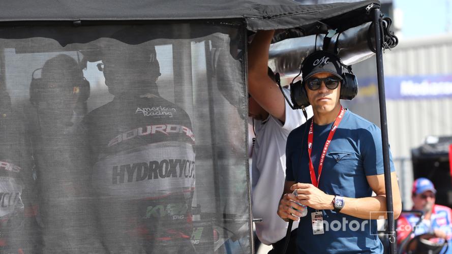 Maldonado expresses IndyCar interest as he visits Iowa