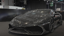 Lamborghini Huracan Jeddah Edition by DMC shows off stealthy styling