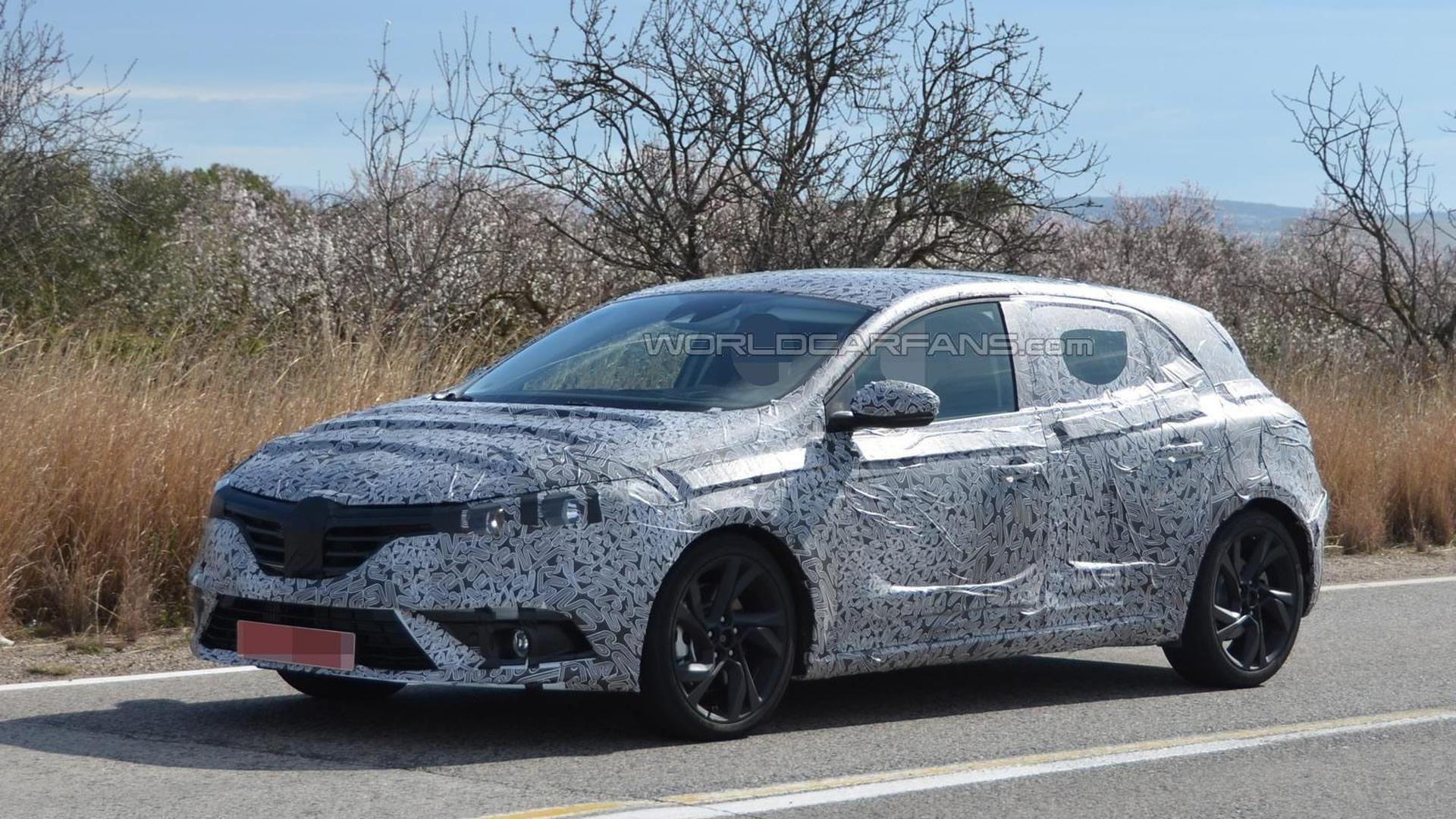 Next-gen Renault Megane spied hiding all-new design under camouflage