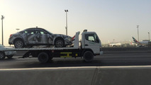 Maserati Levante test mule spotted by WCF reader in Dubai
