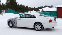2017 Rolls-Royce Wraith facelift spy photo
