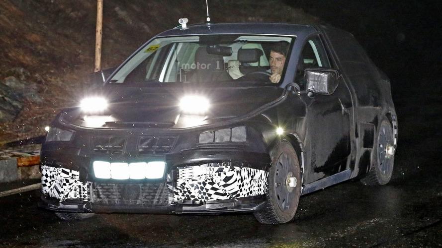 2017 Seat Ibiza spied hiding production body