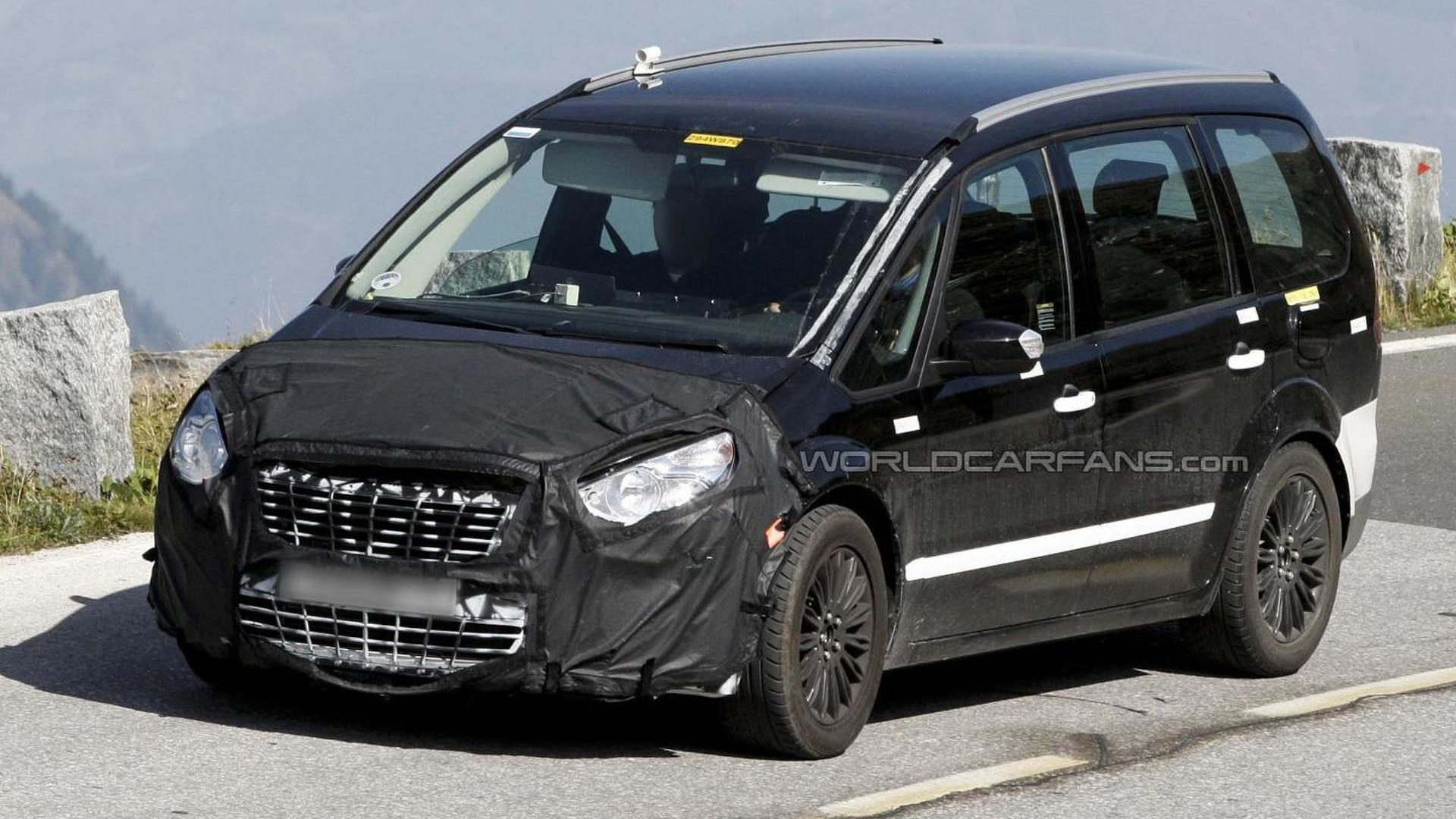 Ford Galaxy mule spied
