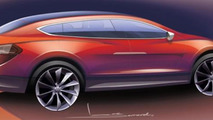 2014 Tesla Model X will be offered only with AWD, priced above Model S