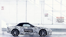 Jaguar F-Type sports car prototype 04.04.2012